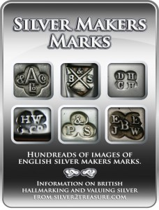 antique silver makers marks