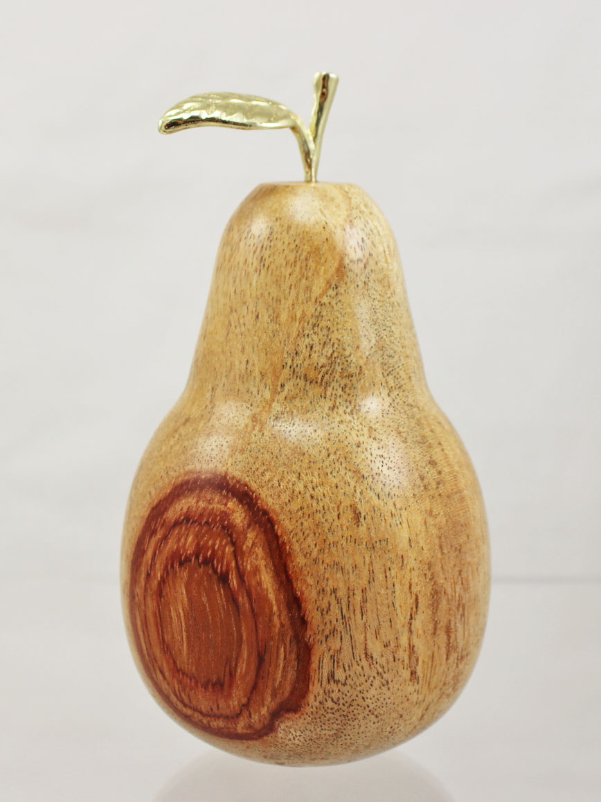 Woodturning projects for beginners turning a pear (12 ...