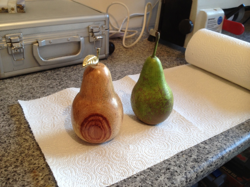Woodturning Projects For Beginners Turning An Apple Then A Pear