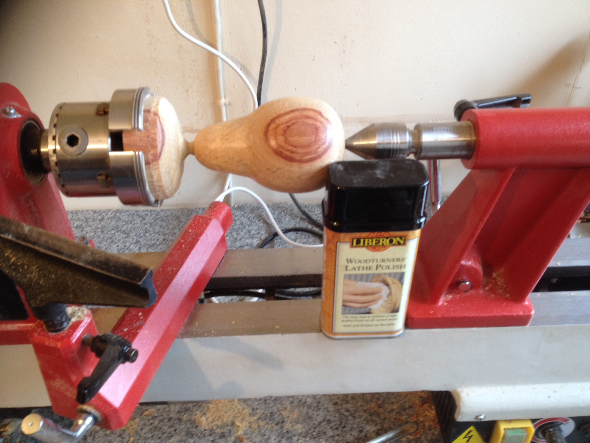 Vehicle Code Reader >> Woodturning projects for beginners turning a pear (7) - Steve Freeman