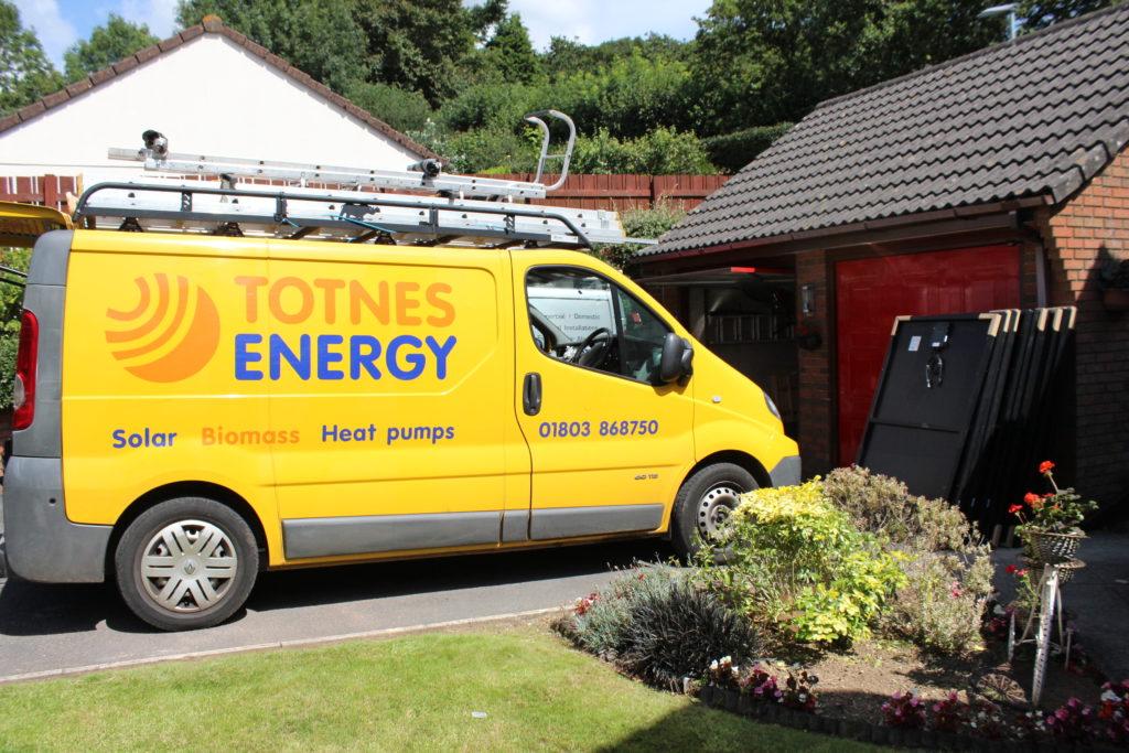 Solar Panels Devon Totnes Energy Plus Nissan Leaf 2