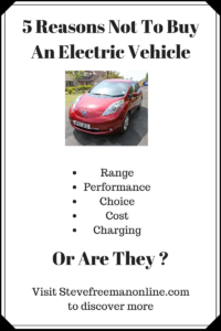 5 Reasons Not To Buy An Electric Vehicle