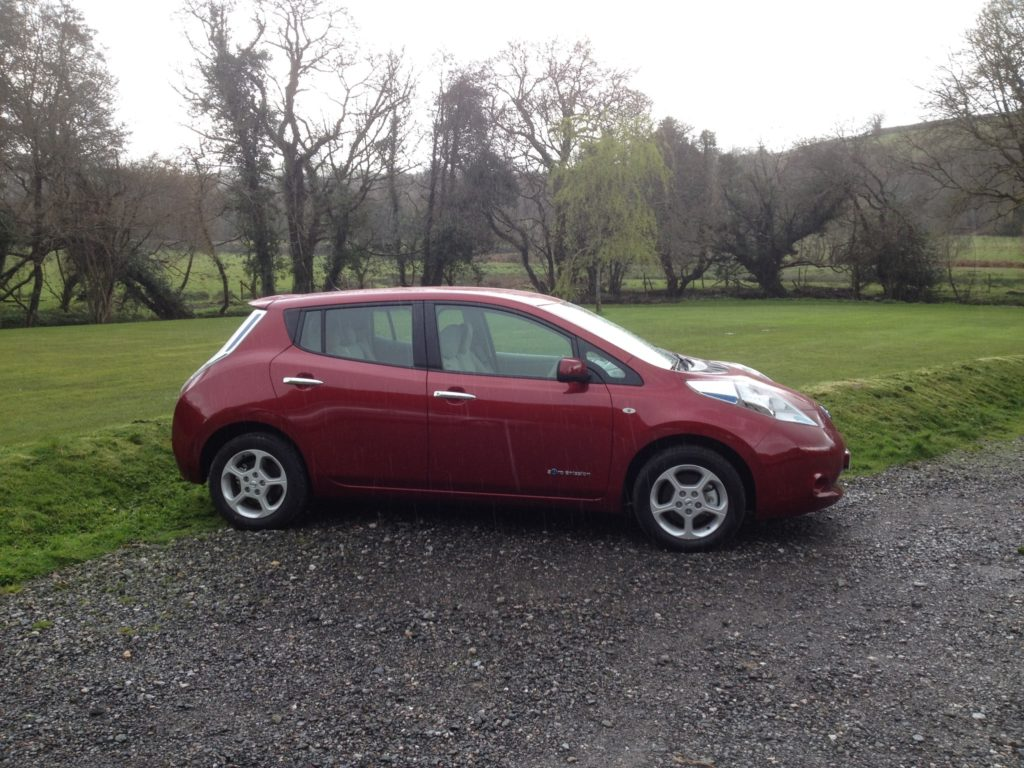 Nissan Leaf Acenta 30kwh Zero Emission Vehicle Engine Diagram After A Celebration Pint Of Guinness It Was Back Home